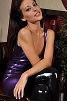 Lorena G Purple And Black - Picture 9